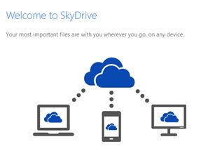 SkyDrive Example