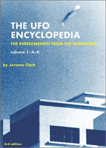 "THE BASEMENT BOOKSHELF: ""The UFO Encyclopedia"" by Jerome Clark"