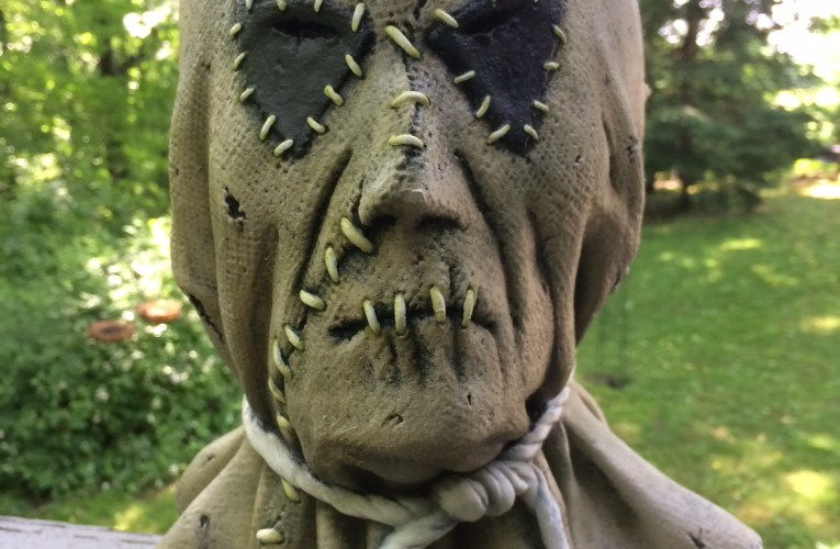 MONSTROUS MASK REVIEWS: Scarecrow by Death Studios