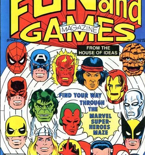 OFF THE RACK COMICS: Marvel Fun and Games Magazine (1979-1980)