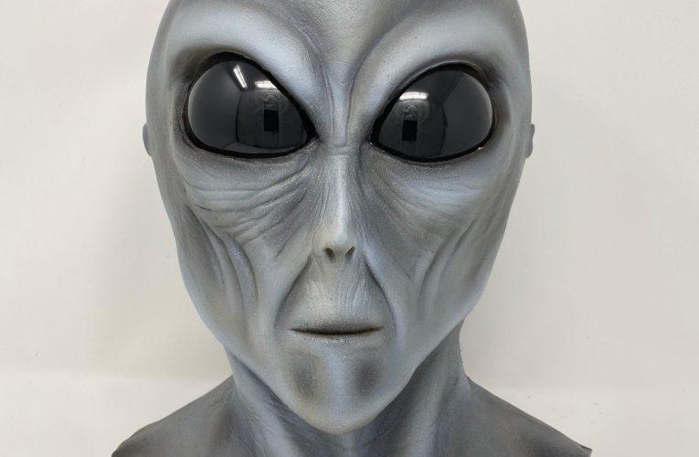 MONSTROUS MASK REVIEWS: Alien Gray by Steve Neill