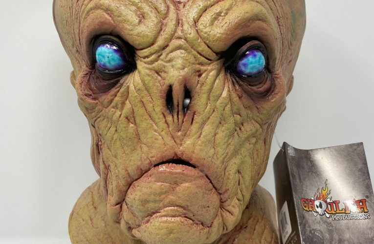MONSTROUS MASK REVIEWS: Ghoulish Productions' Alien Probe