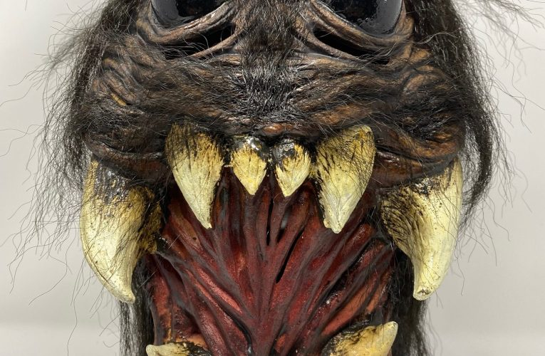 MONSTROUS MASK REVIEWS: Spider Mask by Ghoulish Productions