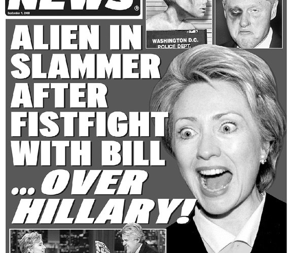 It's Back!!! The Weekly World News to Return to Print!!!