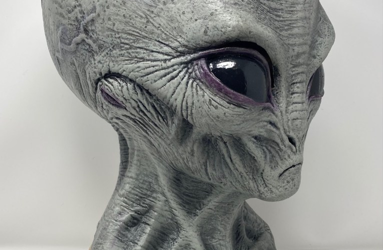 MONSTROUS MASK REVIEWS: Area 51 Alien by The Horror Dome