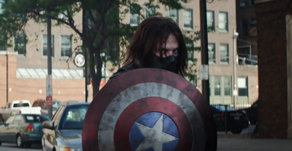 Image result for bucky captain america shield