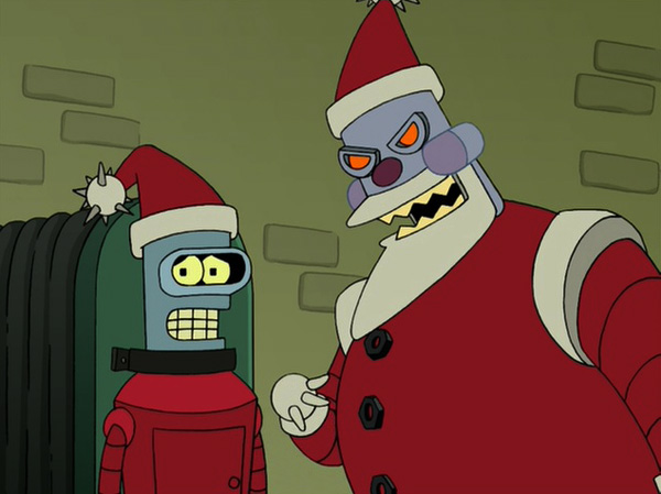 Image result for futurama a tale of two santas
