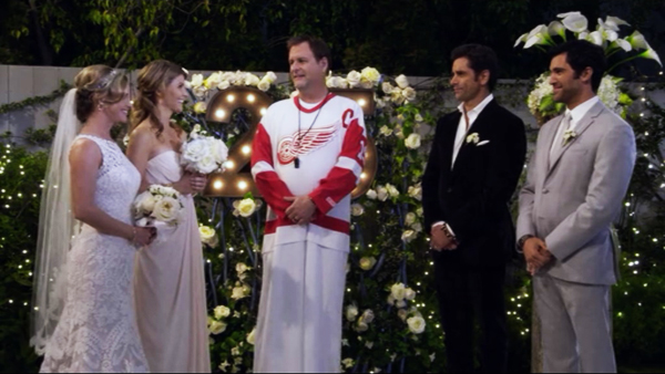 Image result for fuller house kimmy and fernando get married