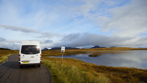 Base Surf Lodge - Vanlife in Scotland