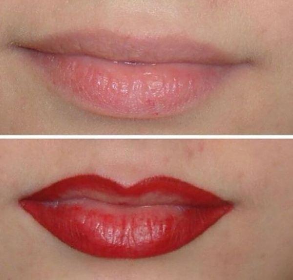 Самые ужасные татуировки на губах: 20 фото