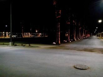 De Strukton street by night