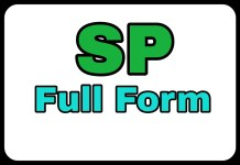 SP Full Form