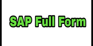 SAP Full Form