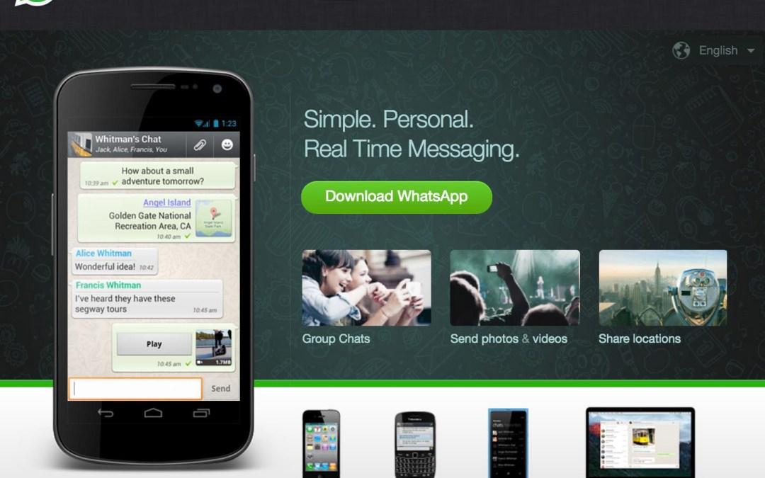ما هي الهواتف التي سيتوقف فيها تطبيق Whatsapp
