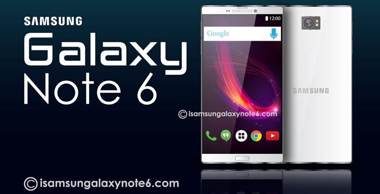 Galaxy Note 6 يتضمن تكنولوجيا قراءة قزحية العين