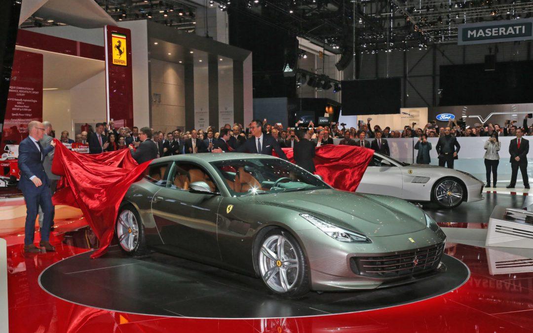 إطلاق فيراري GTC4Lusso في معرض جنيف الدولي