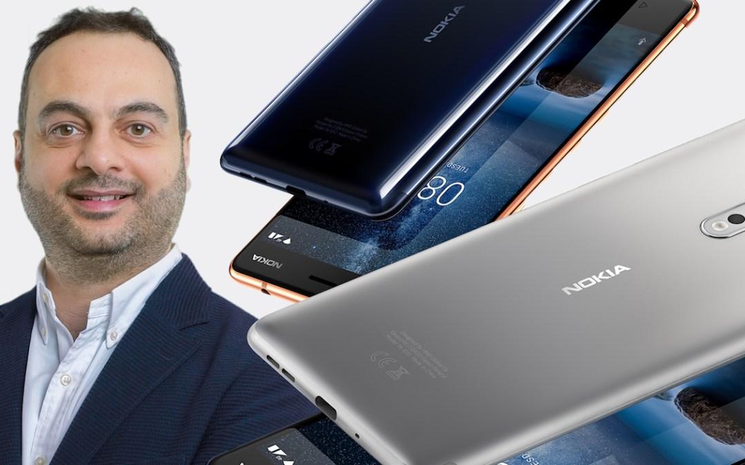مدير HMD Global باتريك حرب:  نوكيا منافس جديد ولاعب متميز  في فئة الهواتف الذكية (مقابلة)