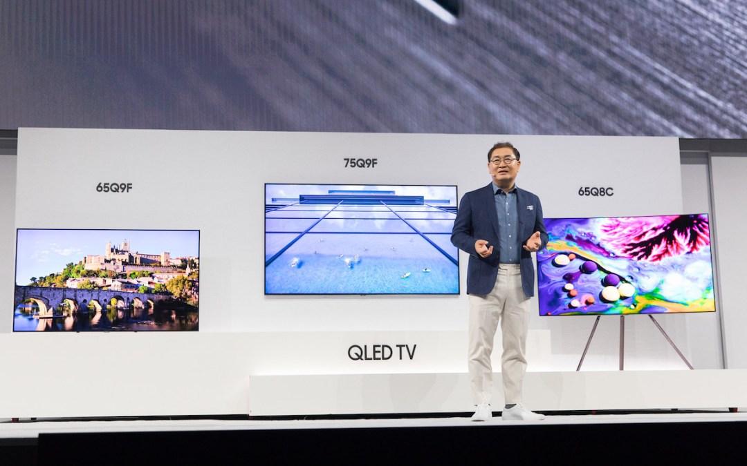 سامسونج تكشف عن تشكيلة أجهزة تلفاز QLED لعام 2018 خلال First Look Event في نيويورك