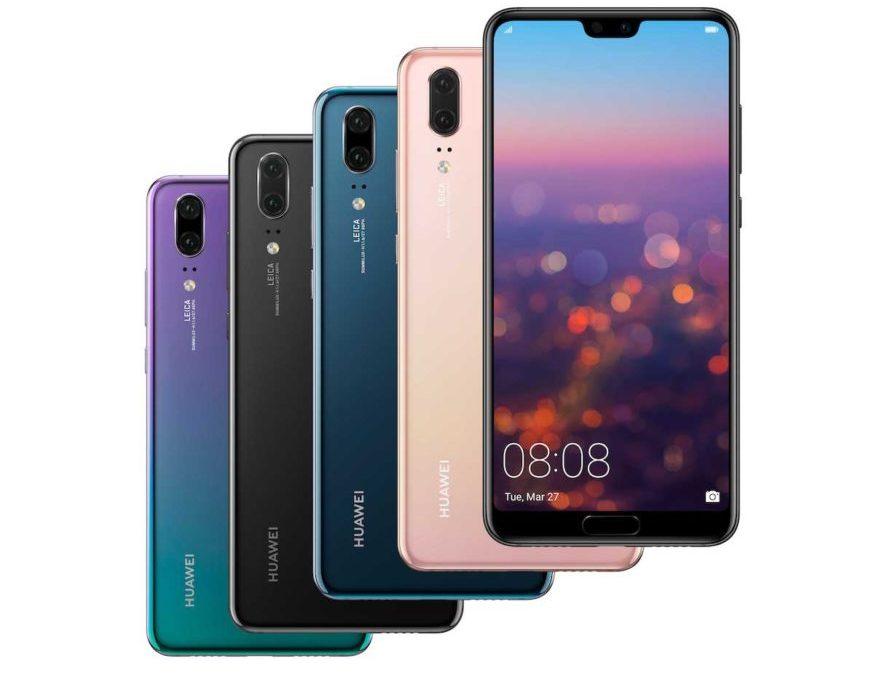 مجموعة Huawei P20 Pro تحطم الأرقام القياسية في المبيعات في غرب أوروبا