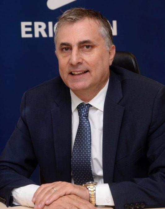 محمد درغام، رئيس إريكسون في منطقة شمال الشرق الاوسط: تقنية الجيل الخامس 5G في طريقها للبنان بعد الإنجاز الهام الذي حققته ألفا واريكسون