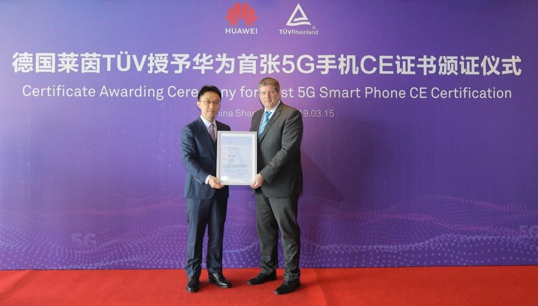 هاتف Huawei Mate X يحصل على أول شهادة اعتماد في العالم لشبكة اتصالات الجيل الخامس (G5)