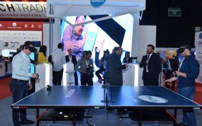 تاتش قدّمت عرضاً تجريبياً لتقنية الجيل الخامس وحلولاً مبتكرة  خلال معرض SmartEx 2019