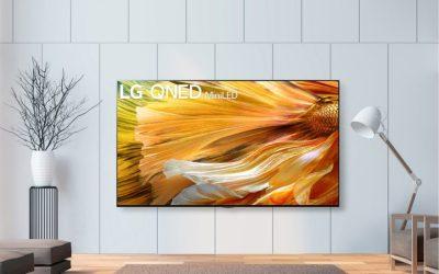 تلفزيون LG QNED MINI LED يضع معياراً جديداً لجودة صورة LCD