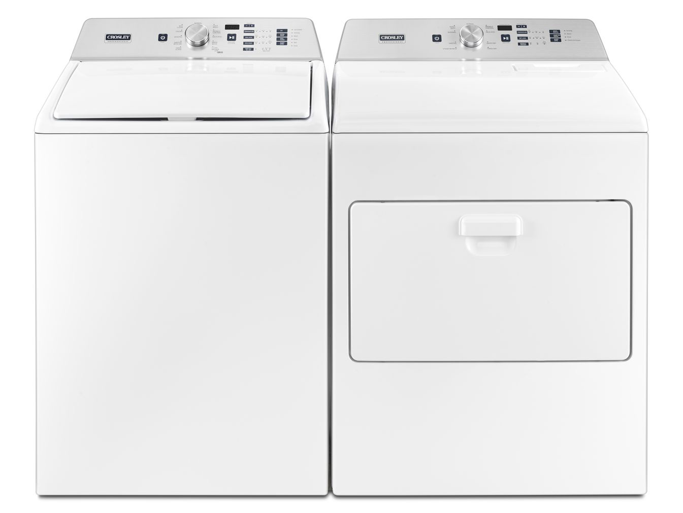 Crosley He Top Load Washer Dryer Set Model Zaw47115gw Zed7009gw Basham S