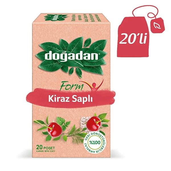 علبة شاي فورم الأعشاب بعروق الكرز 20 كيس دوغادان