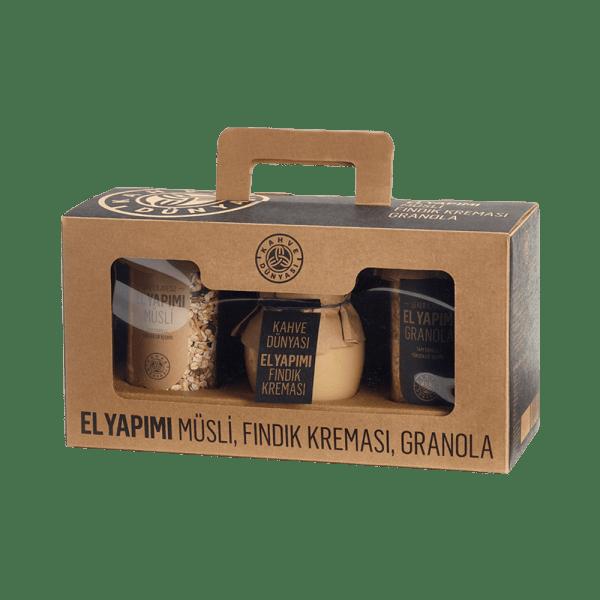باقة منتجات غذائية عضوية 3ب1 قهوة دنياسي