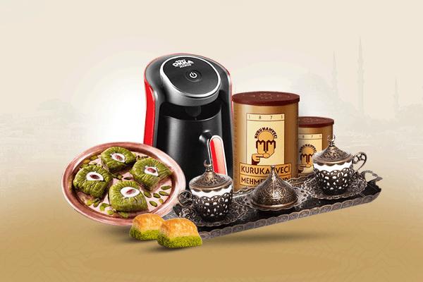 مجموعة القهوة الرمضانية من قصر الباشا لكل شخص يحب القهوة والمزاج العالي، هذه مجموعة مصممه خصيصا لشهر رمضان المبارك اطلبها الآن