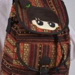 حقيبة ظهر نسائية قماش تركي تراثية