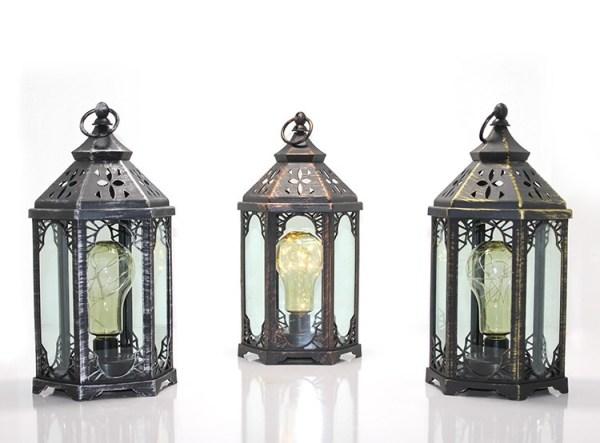مصباح رمضان تراثي (يعمل على البطارية)