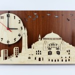 ساعة حائط مسجد آيا صوفيا