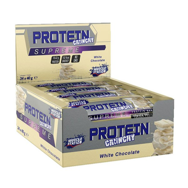 بار بروتين شكولاته سوبريم 3 نكهات 24 قطعة