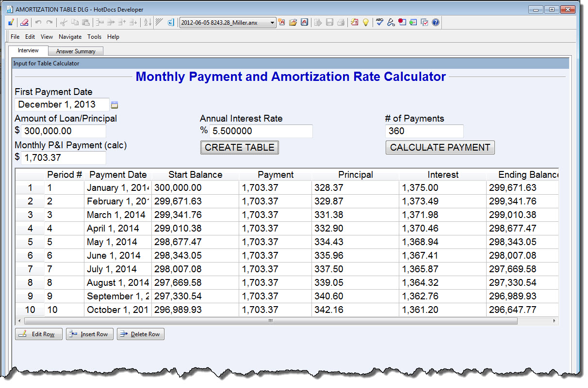 Excel Loan Amortization Schedule