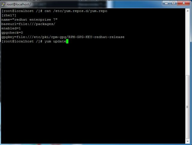How to create YUM repository in Redhat CentOS Linux 7_bashcodes