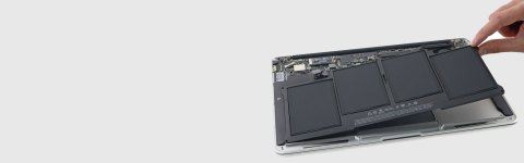Battery replacement of MacBook, Pro, Air