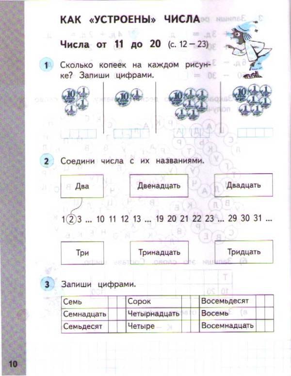 Решебник По Математике 1 Класс 2 Часть Башмаков ...