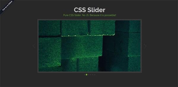 10 Amazing Pure CSS3 Image Sliders | Web & Graphic Design ...