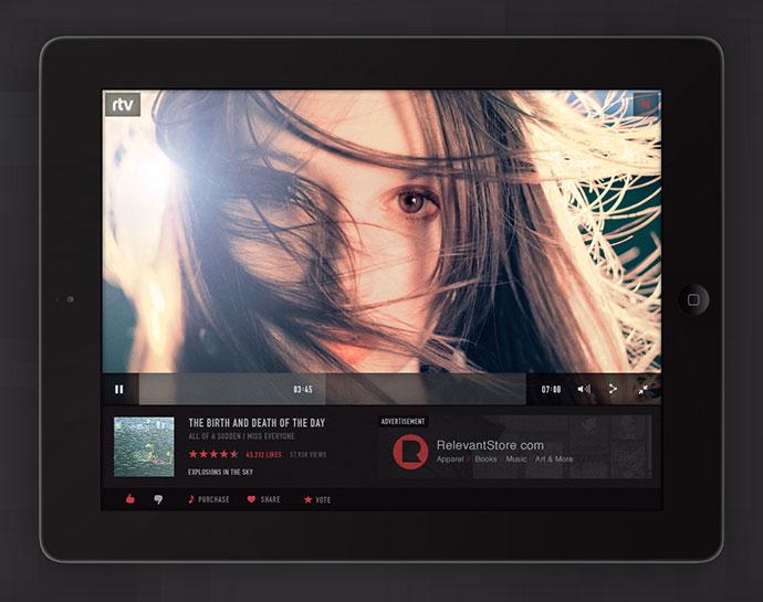 RTV Music Video Application