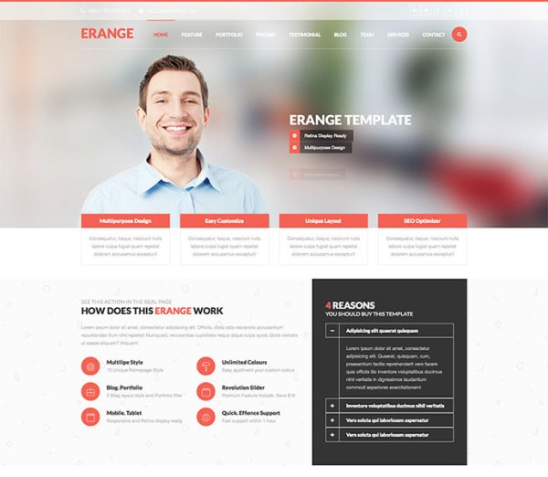 43 Professionally Designed HTML5 Business Website ...