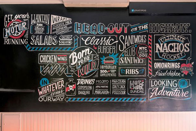 34 Inspiring Typography Wall Mural Designs Web Amp Graphic