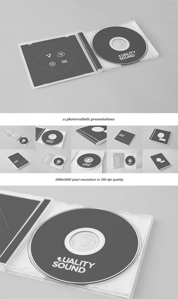 25 Best Premium PSD CDDVD Cover Mockup Templates Web
