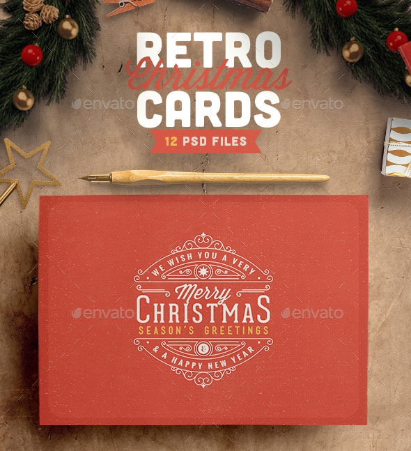 25 Cool PSD Christmas Card Templates Web Amp Graphic