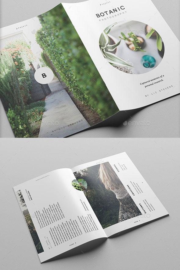 40 Beautiful InDesign Fashion Brochure Templates Bashooka