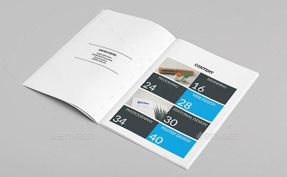 25 Really Awesome Portfolio Brochure Templates Web