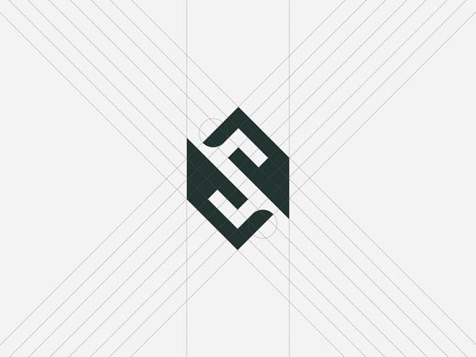 25 Cool Broken Letter Logo Designs