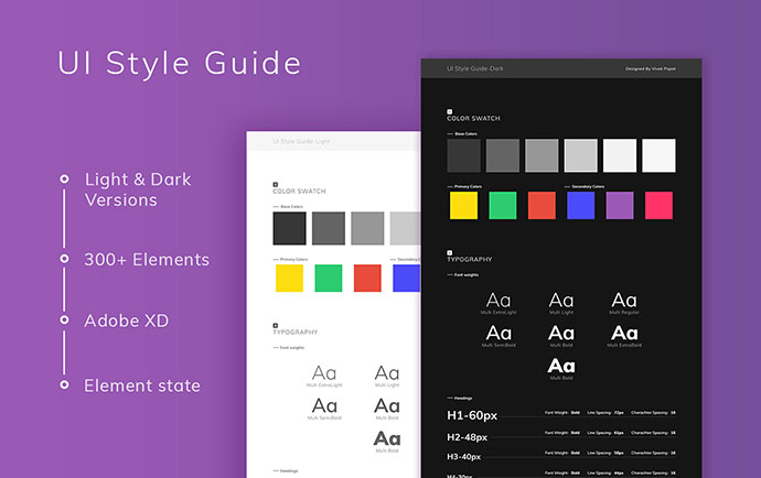 25 Best Free Adobe XD Templates For UI Amp UX Designer Bashooka