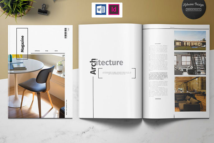 40 Compelling Indesign Interior Magazine Templates Bashooka
